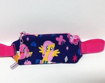 Insulin pump pouch / little ponies