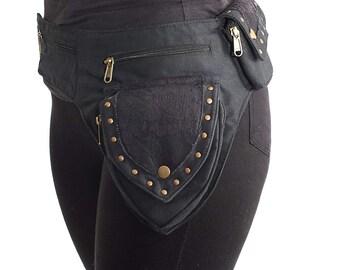 Steampunk,Hip Bag.Fits i phone 7Plus,Utility Belt,Festival Belt,Fanny Pack,Pocket Belt.Travel Money Belt,Hip Belt,Burning Man,Samsung s7h