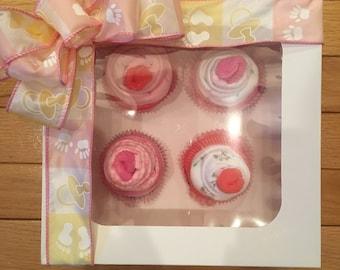 Baby Onesie Cupcakes, Boy or Girl Onesies, Cupcakes, Baby gifts