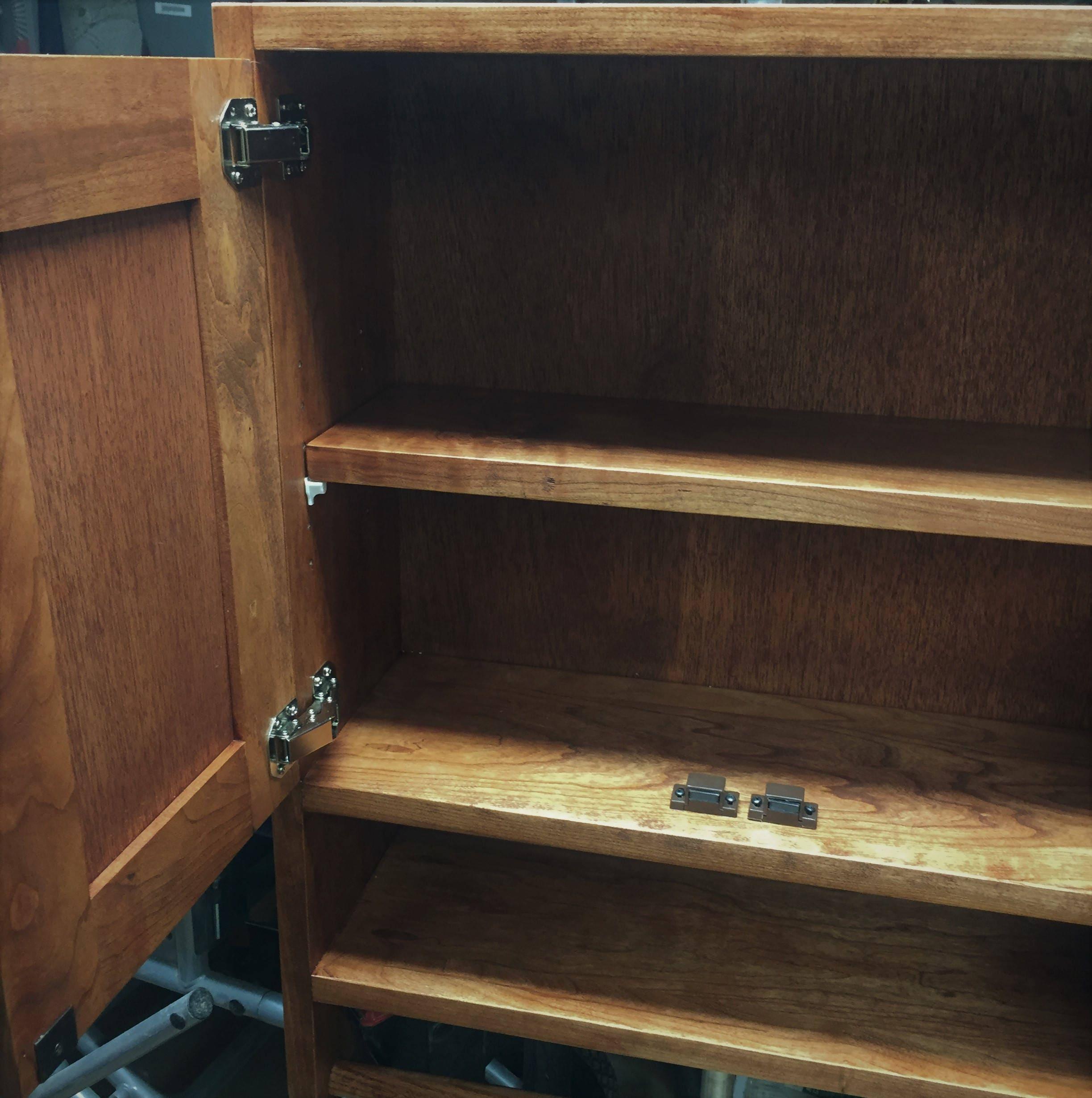 Cherry Hanging Bathroom Cabinet Medicine Cabinet Bath Storage