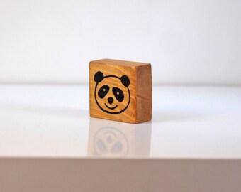 Cute Panda Face Stamp
