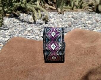 Hot Pink Diamond Bracelet
