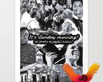 It's Sunday Morning - Print