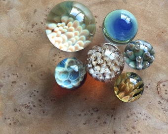Handmade Colorful Glass Borosilicate Marbles