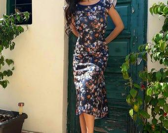 Open Back Tango Dress