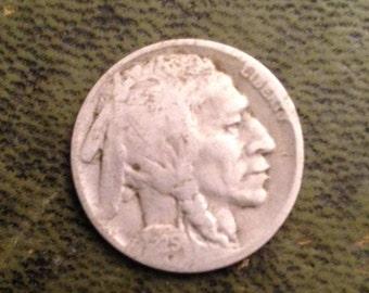 Indian Head Nickel 1925S