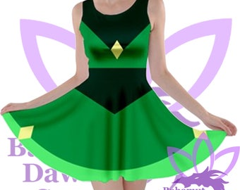 Peridot Dress Steven Universe inspired