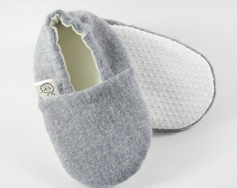 Hipster Baby Clothes- Gender Neutral Baby Shoes- Toddler Slippers- Eco Baby- Baby Shower Gift