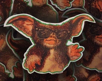 Homemade Gizmo Ray Bans Stickers