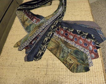 SALE! Lot of 7 Mens ties for wearing or crafting. One dollar per tie. Used but in great shape. Mixture of colors. (AR03)
