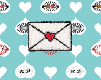 Mini Love Letter Patch (Free Shipping)