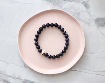 Love Affair - Blue Goldstone Bracelet