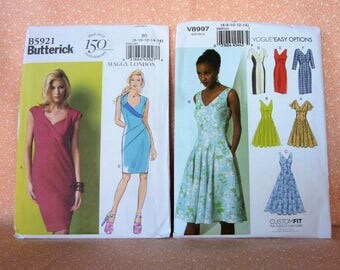 Lot #31A, Sewing Patterns for Misses, Set of Two