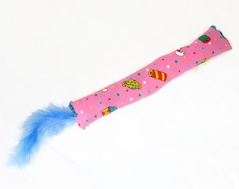 Cat Toy Whirly Ball Feather