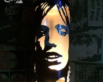 Tom Petty Beer Can Lantern! Heartbreakers Pop Art Candle Lamp, Unique Gift
