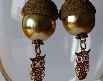 Summer gold earrings - Made in FRANCE