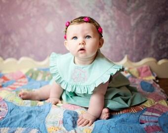 Monogram Dress, Summer Dress, Girls Dress, Monogrammed Dress, Spring Dress, Birthday Dress, Easter Dress, summer dress, 4T