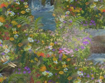 Nature's Angel Floral Digital Coordinate by Liz Dillon