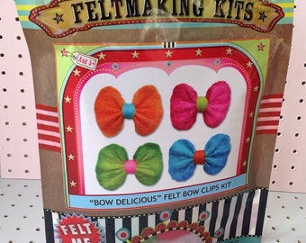 "Gilliangladrag ""Bow Delicious"" Felt Bow Clip Kit"