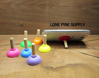 These Cute Little Plungers. Mini Plungers. Colored Mini Plungers. Craft Supplies.