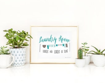 Laundry Sign | Laundry Room Sign | Sign For Laundry | Laundry Room | Laundry Room Decor |Laundry Room Art | Instant Download |Laundry Art