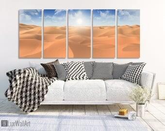 Desert Wall Art Metal Print Decor Ready to Hang