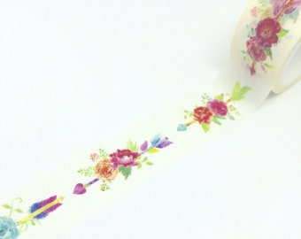 Flowers and Arrows Tape 20mm x 5m