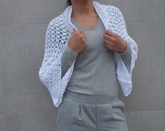 Shrug Cotton Shrug Summer shrug bolero crocheted