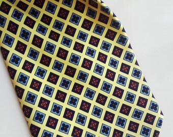 Vintage Michelsons silk tie