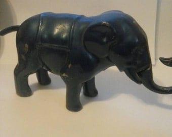 Old vintage mechanical elephant bank RU-GAR CALIF