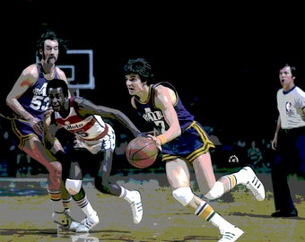 Art Print of Pete Maravich