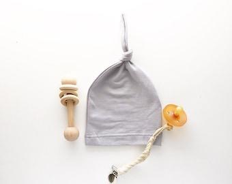 Beanie/Hat - Infant Beanie in Grey