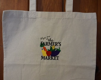 Meet Me at the Farmers Market Tote Bag