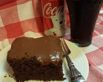 Coca Cola Chocolate Cake Gourmet Rich