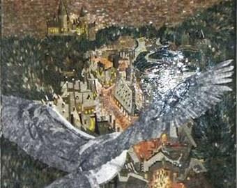 Harry Potter Stone Mosaic