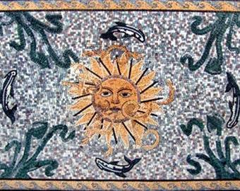 Roman Style Mosaic Art