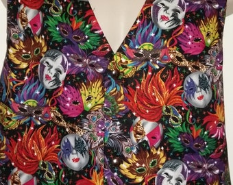 Masquerade/Carnival men's waistcoat
