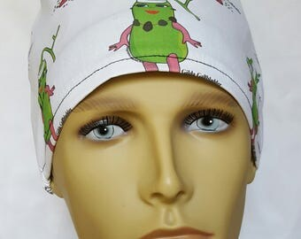GALL bladder surgical scrub hat theatre cap PIXIE cordlock anatomy chole GI Gilda