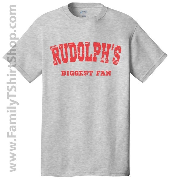 Rudolph's Biggest Fan - Christmas Tee