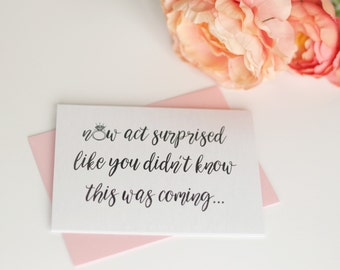 Set of 4 Will You Be My Bridesmaid Card | Bridal Party Card To Ask Flowergirl | Bridesmaid Proposal | Bridesmaid Box