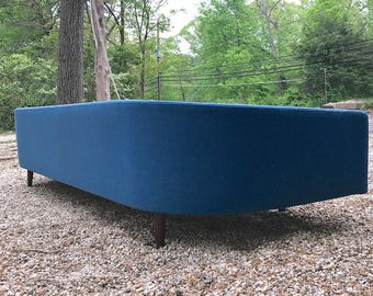 Super Rare Adrian Pearsall Cloud Sofa Vintage Mid-Century Craft Associates Mad Men 111 Inch DayBed Couch Retro Atomic Post Modern