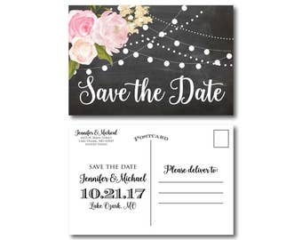 PRINTABLE Save the Date Postcard, Printable Save the Date, Wedding Save the Date, Save-the-Date, Wedding Postcard, Save our Date #CL104