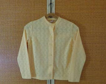 70s.Women Blouse RAINEULE Medium Size (38)