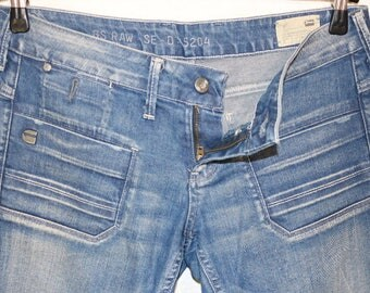 Vintage 90s.Women Jeans Shipmate Skinny WMN ,G-Star Size W28/L32 Made In Italy