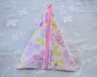 Project bag / knitting bag / berlingot /triangle bag