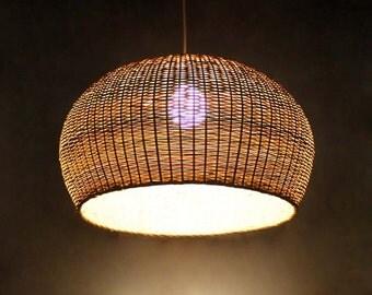 Bamboo lampshade | Etsy