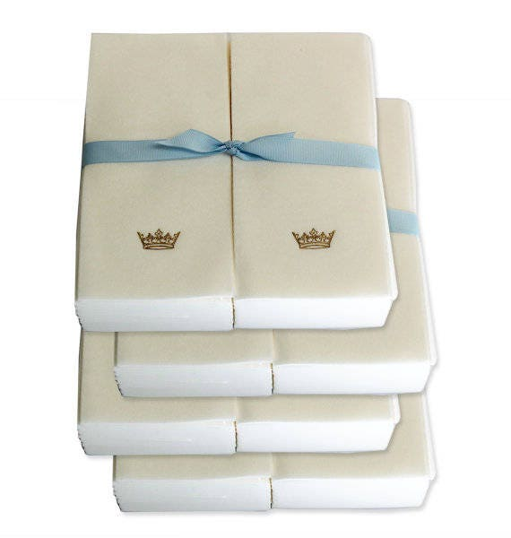 Guest Towels Linen: Nature's Linen Disposable Guest Hand Towels Wrapped With A