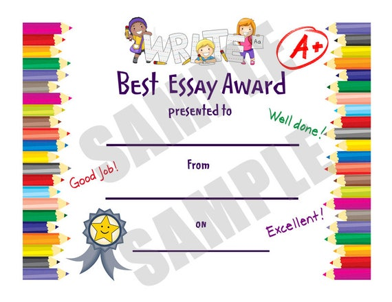 kids certificate best essay for teachers pdf school this is a digital file