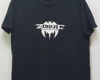 Vintage Zorlac skatebords shirt tour