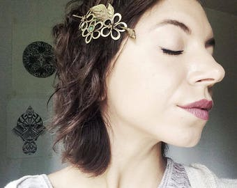 Hair Barrette, Handmade
